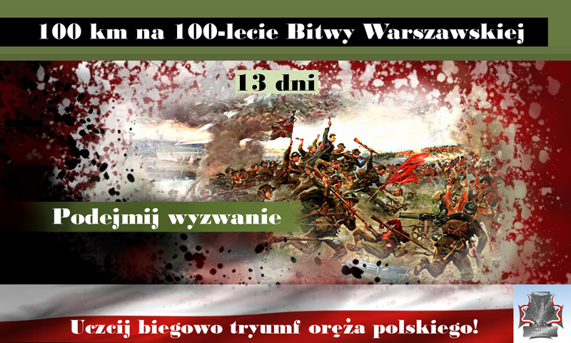 obraz bitwy warszawskiej 1920 podejmij biegowe wyzwanie