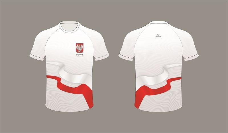 koszulka techniczna biegu wirtualnego bitwa warszawska 2020 r.
